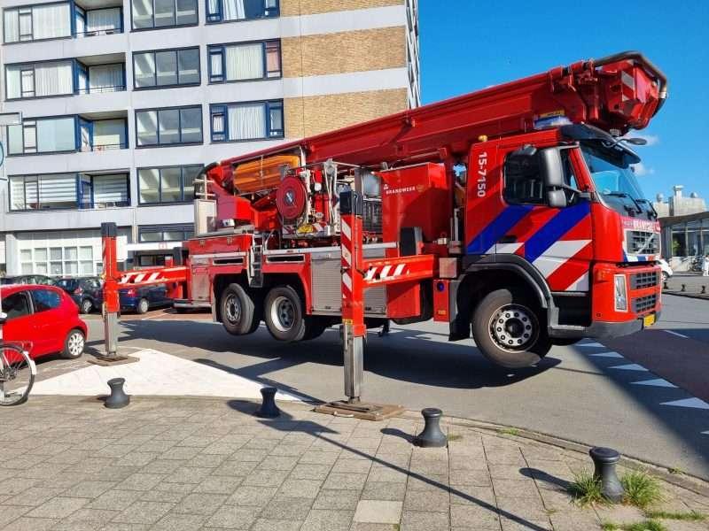 Brandweer reddingsactie